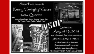 Kenny Gate Performs at Sistas' Place on August 13, 2016