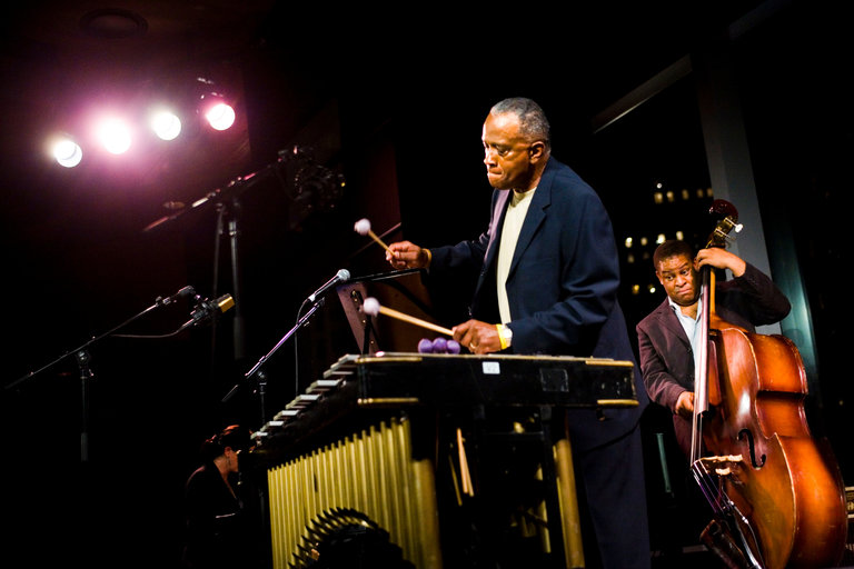 The Bobby Hutcherson Quartet performing at a club at Jazz at Lincoln Center, in New York, in 2006. Credit Marvi Lacar for The New York Times