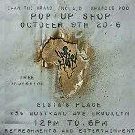 Pop Up Shop at Sistas' Place