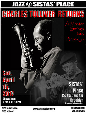 Charles Toliver at Sistas' Place