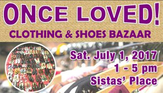 Once Loved! Clothing and Shoes Bazaar at Sistas' Place