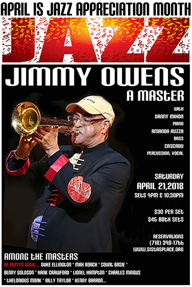 Jimmy Owens at Sistas' Place