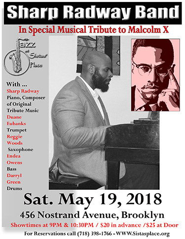 Sharp Radway Band Special Tribute to Malcolm X