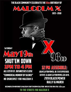 Respect Malcolm X event 2018