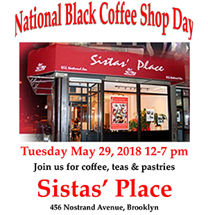 National Black Coffee Shop Day 2018
