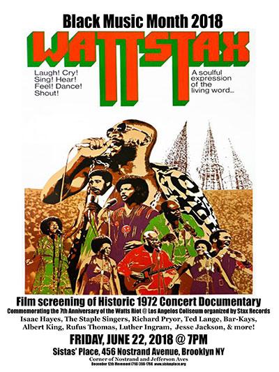 WattStax concert documentary