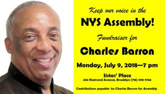 Fundraiser for Charles Barron for NYS Assembly