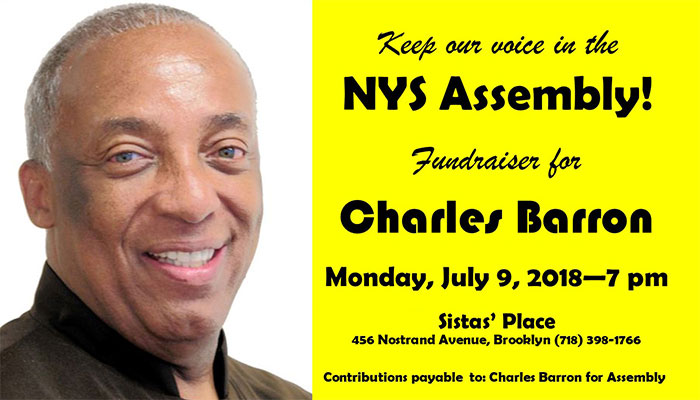 Charles Barron for New York State Assembly 2018