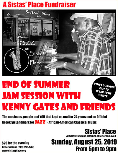 Kenny Gates and Friends at Sistas' Place