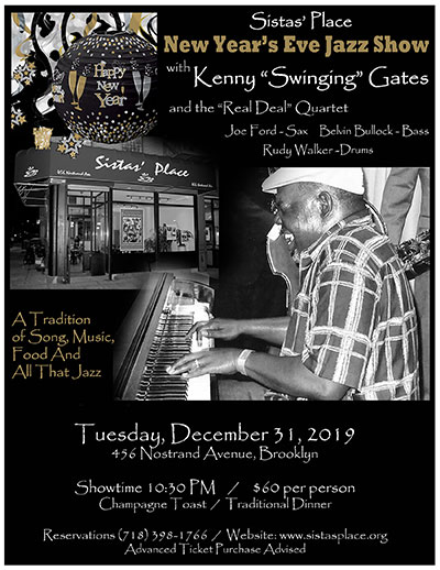 "Kenny ""Swinging"" Gates and the ""Real Deal"" Quartet"