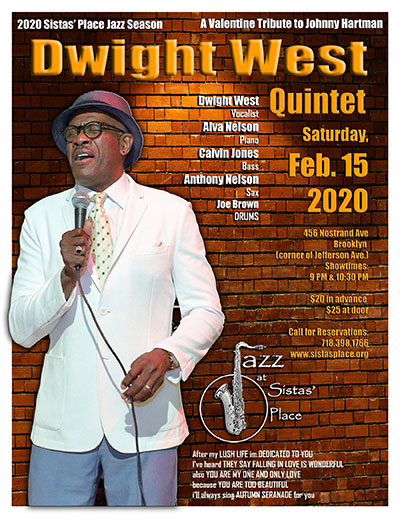 Dwight West Quintet Performs at Sistas' Place