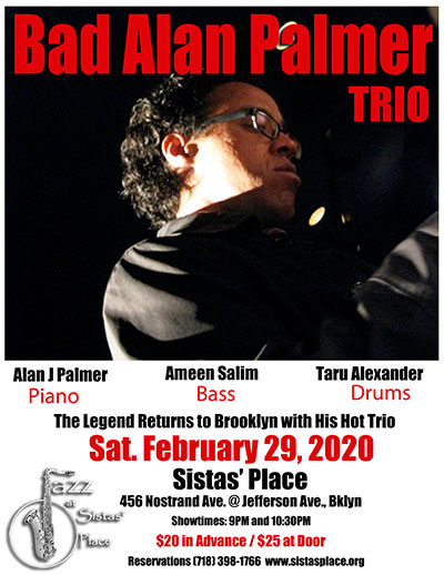 Bad Alan Palmer Trio