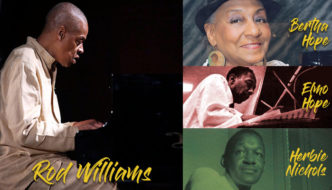 Rod Williams, Bernice Hope, Elmo Hope and Herbie Nichols