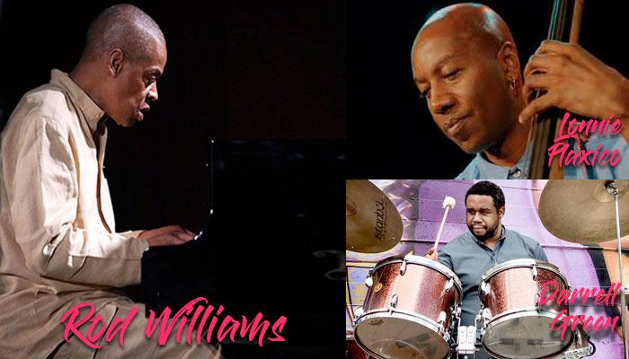 Rod Williams, Lonnie Plaxico and Darrell Green