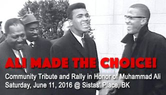 Ali Made the Choice! Honor Muhammad Ali