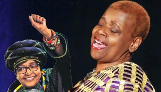 Tulivu Donna Cumberbatch celebrates Winnie Mandela