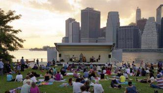 Jazzmobile at Brooklyn Bridge Park on July 24, 2017